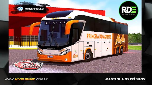 MASCARELLO ROMA R8 - VIAÇÃO PRINCESA DO AGRESTE