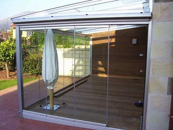 Cerramientos de terrazas aluminio tarragona puertas for Cerramiento terraza cristal precio