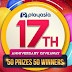 Playasia 17th Anniversary Gaming Console Giveaway #Worldwide