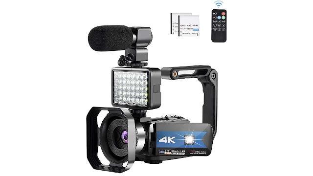 Lierhyt 4K Microphone WIFI Video Camera