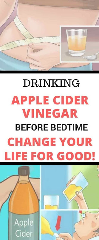 Drink Apple Cider Vinegar Before Bed For These 10 Incredible Reasons!