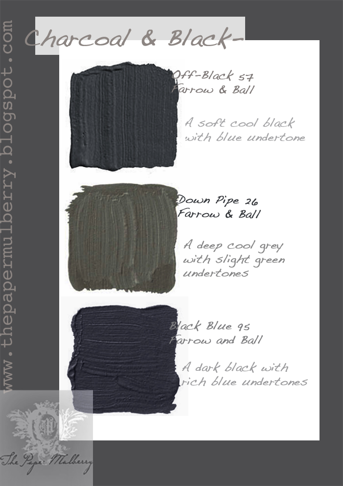 The paper mulberry exterior paint shades part 2 - Dark grey exterior house paint concept ...