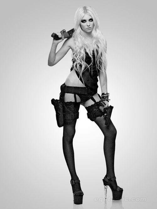 Taylor momsen stripper heels