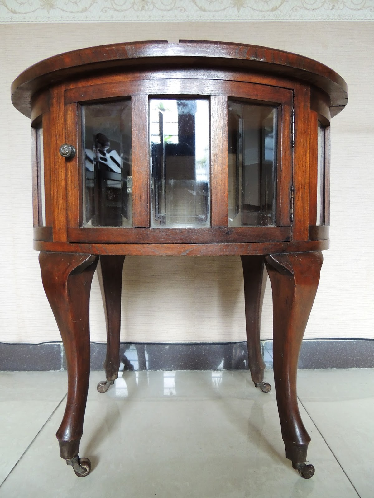 Henry Antique Collections Antique Tea Cabinet
