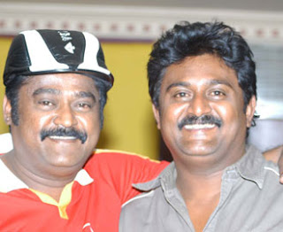 Jaggesh  with Komal
