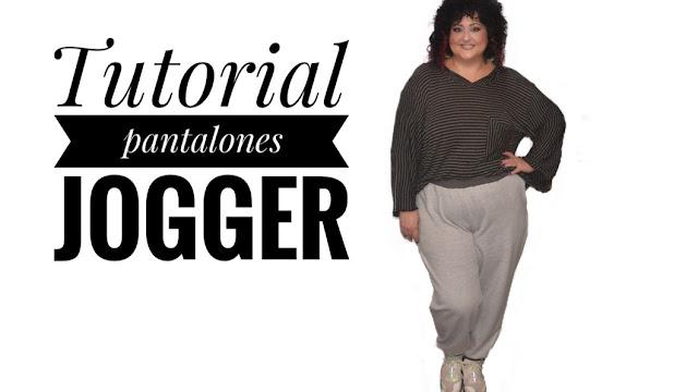 Tutorial pantalón de chándal jogger