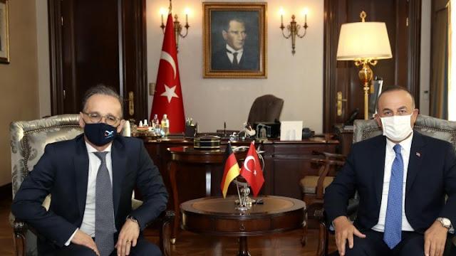 وزير الخارجية الألماني يدعو اليونان وتركيا إلى التهدئة والدخول في الحوار