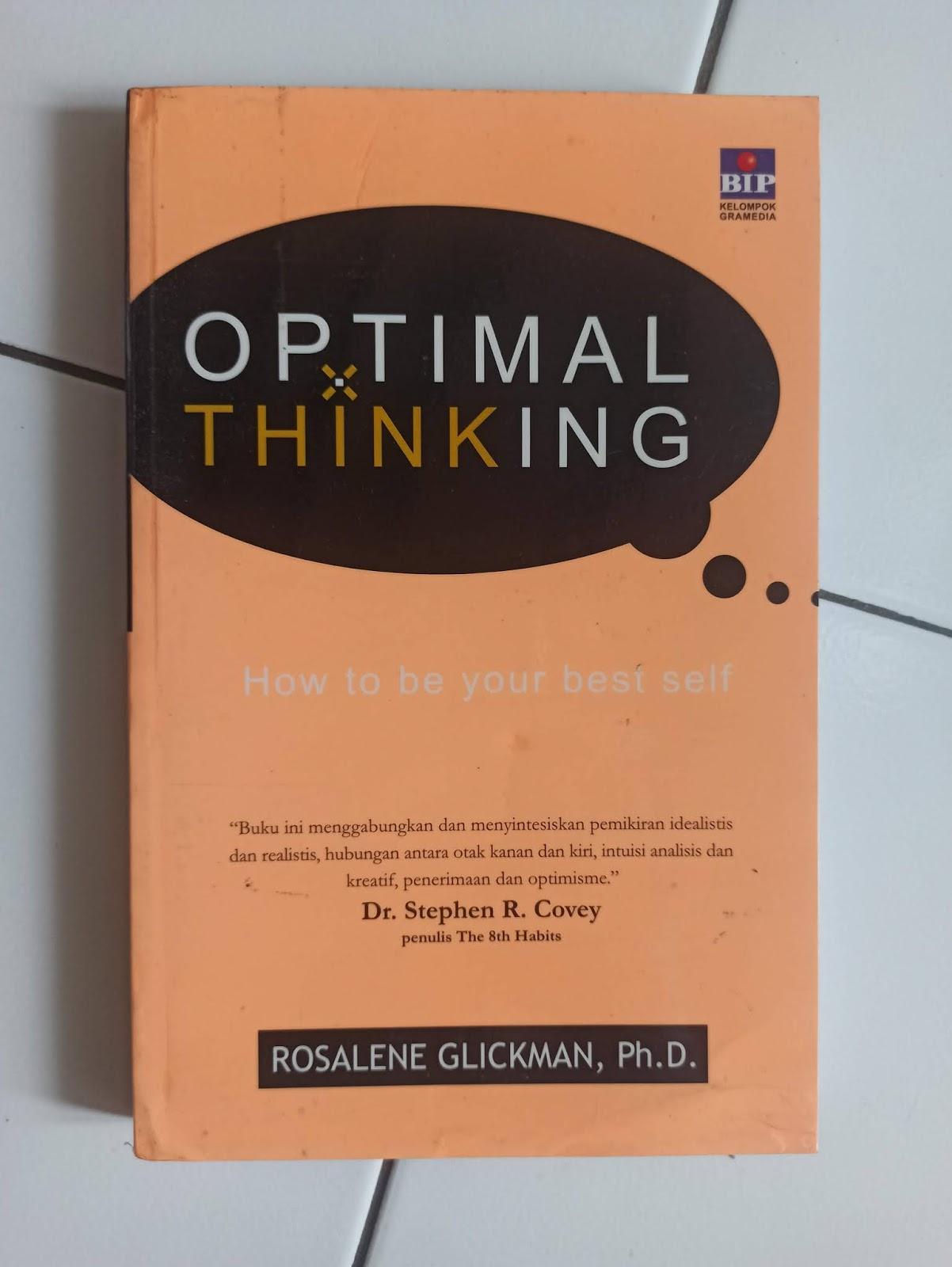 Optimal Thinking Rosalene Glickman
