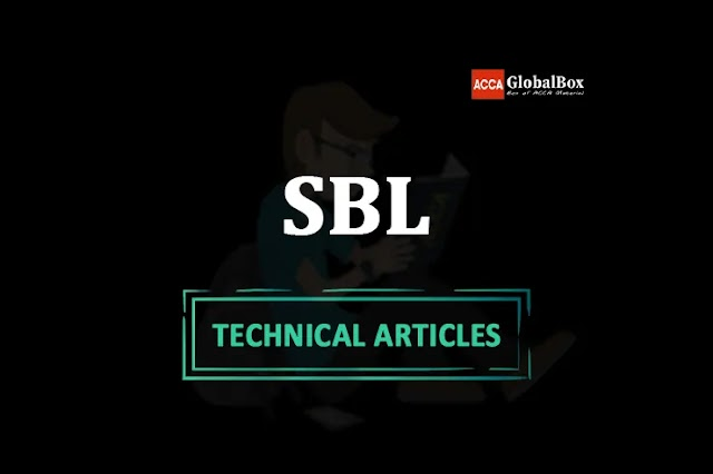 SBL - 2021 | ALL in One Technical Articles