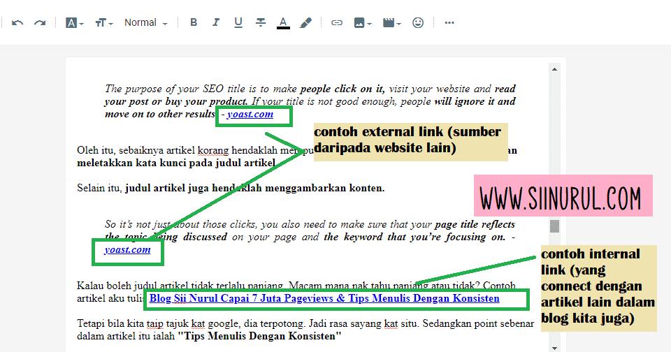 internal link dan external link