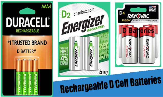 Rechargeable D Cell Batteries