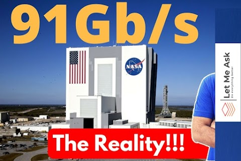 Nasa internet speed - 91GBPS