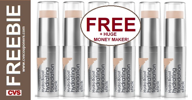 FREE Neutrogena Foundation Stick at CVS