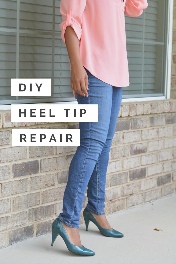 heel tip repair