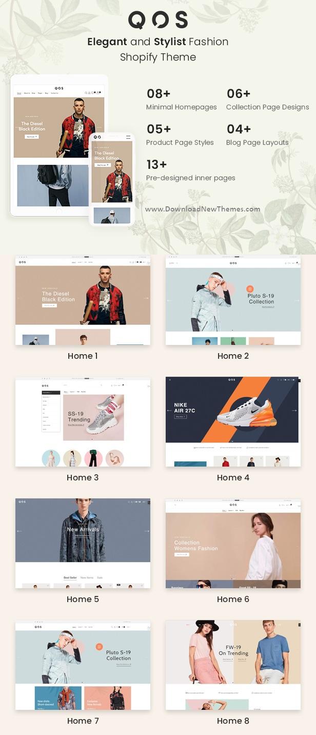 Minimal Fashion eCommerce Shopify Theme