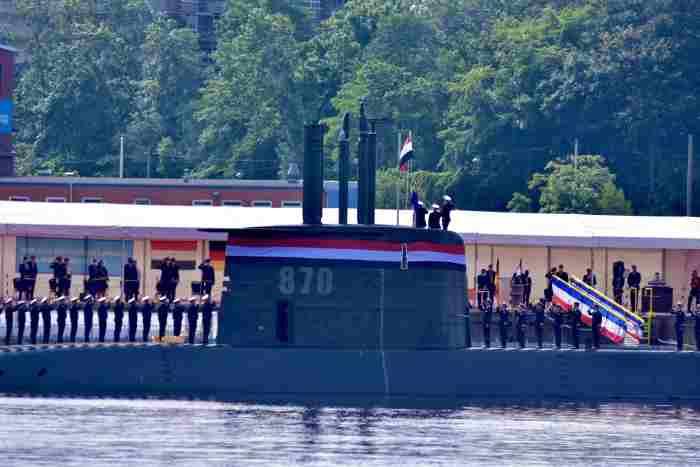 AL Mesir Terima Unit Terakhir Kapal Selam Type 209/1400 dari Jerman