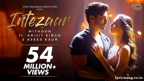 intezaar lyrics