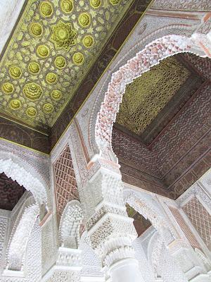 Tumbas saadíes; Saadian tombs; Tombeaux saadiens; Marrakech; مراكش; ⴰⵎⵓⵔⴰⴽⵓⵛ; Marruecos; Morocco; Maroc; المغرب