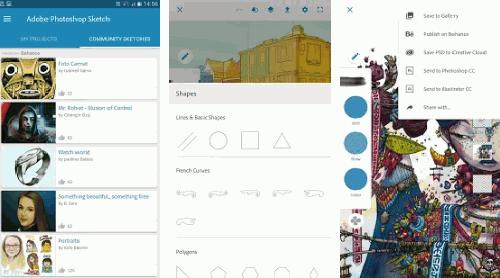 تحميل تطبيق Adobe Photoshop Sketch للرسم بشكل مثير للإعجاب [ android ]