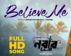 Believe Me Ami Tor Hote Chai Lyrics (বিলিভ মি আমি তর হতে চাই) Nabab LLB | Shakib Khan | Mahiya Mahi