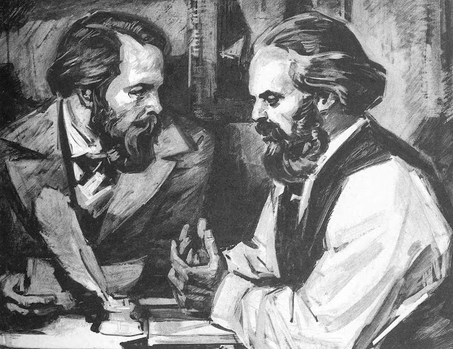 Frases de Karls Marx e Engels