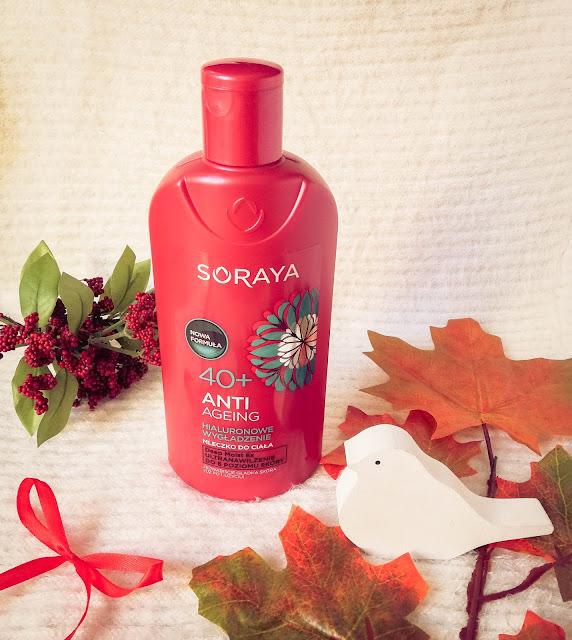 Soraya  | ANTI-AGEING Mleczko do ciała 40+ Hialuronowe wygładzenie, regeneracja, ultra nawilżenie