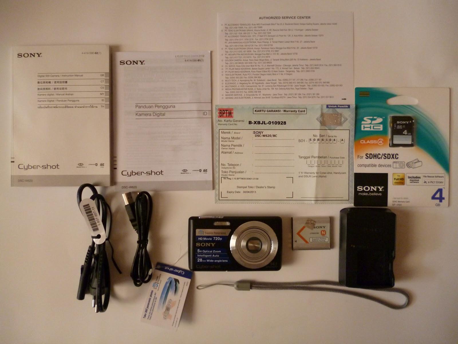 Sony cyber shot dsc w620 user manual.