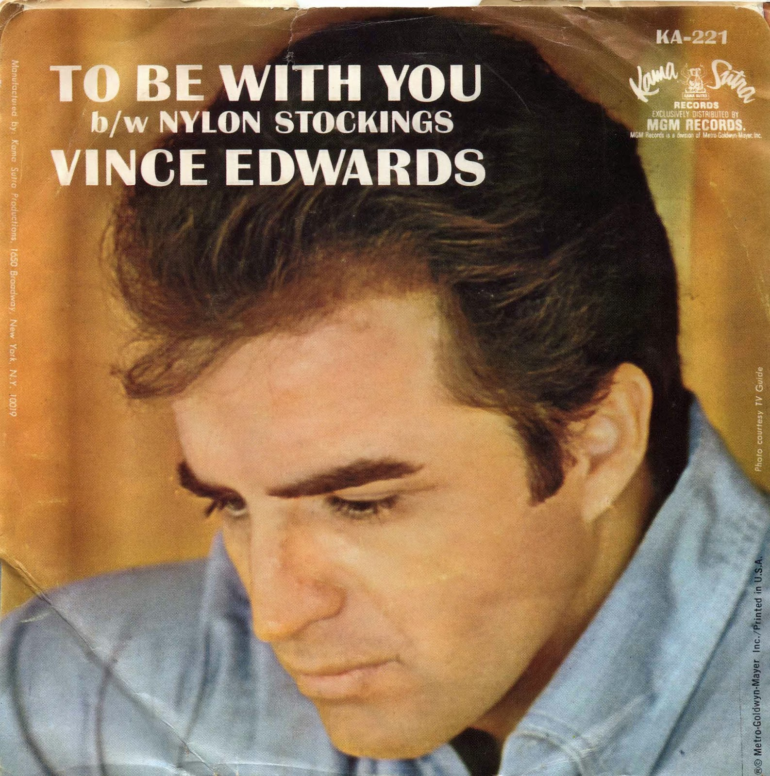 d r e w  u2022 f r i e d m a n  my vince edwards record collection