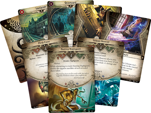 Arkham Horror Card Game LCG cards