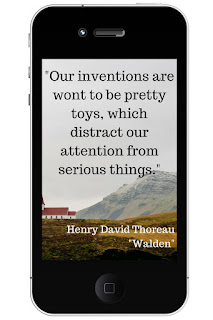Our Inventions are wont to be pretty toys, which distract our attention from serious things.