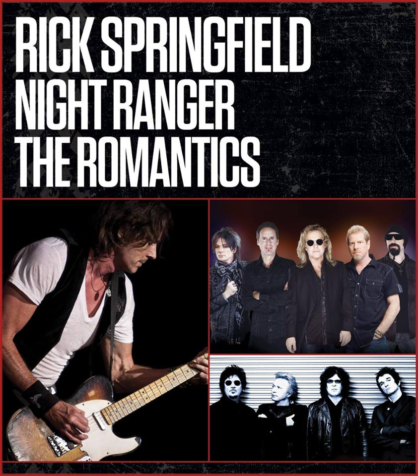 Rick springfield tour dates in Australia