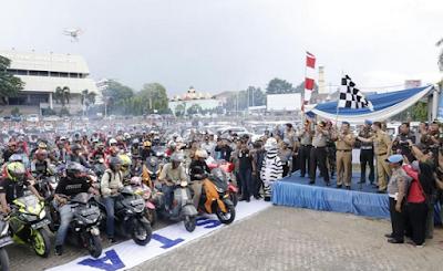 Gubernur Ridho Apresiasi Apel Besar Klub Mobil dan Motor Lampung