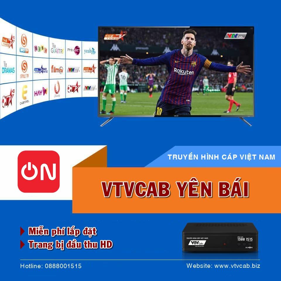 VTVcab Yên Bái - Tổng đài đăng ký lắp truyền hình cáp & Internet
