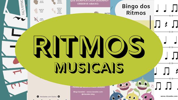 Ritmos Musicais | Atividades e Recursos Para Baixar