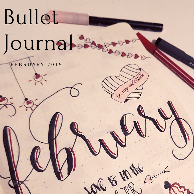 Bullet Journal 2019 - February Set Up