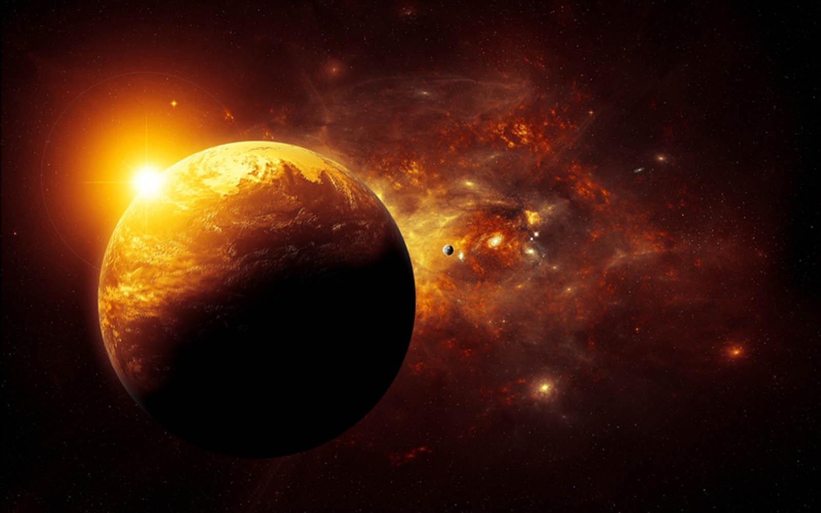 The Solar System 3D HD Wallpaper - Pics about space