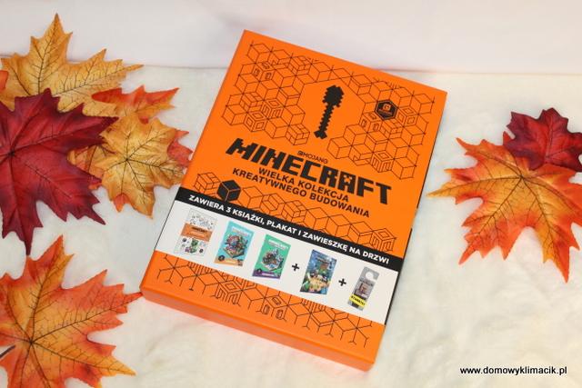 MOJANG MINECRAFT - WIELKA KOLEKCJA KREATYWNEGO BUDOWANIA - Nowe wydanie Minecraft od Harper Collins Polska