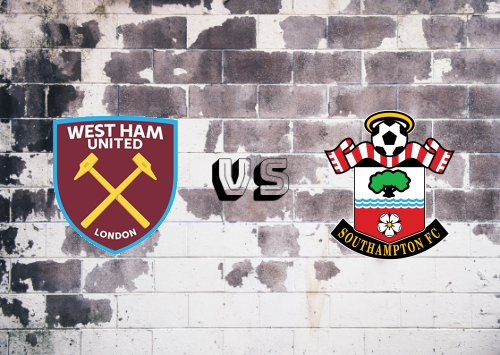 West Ham United vs Southampton  Resumen