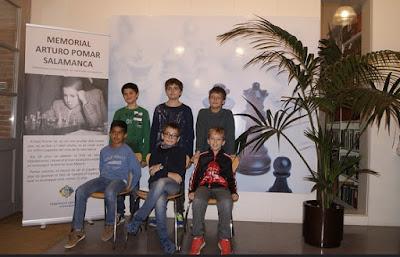 Participantes en el Sub-10 del I Memorial Arturo Pomar Salamanca