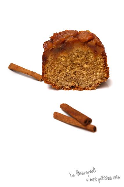 Cake aux pommes Tatin