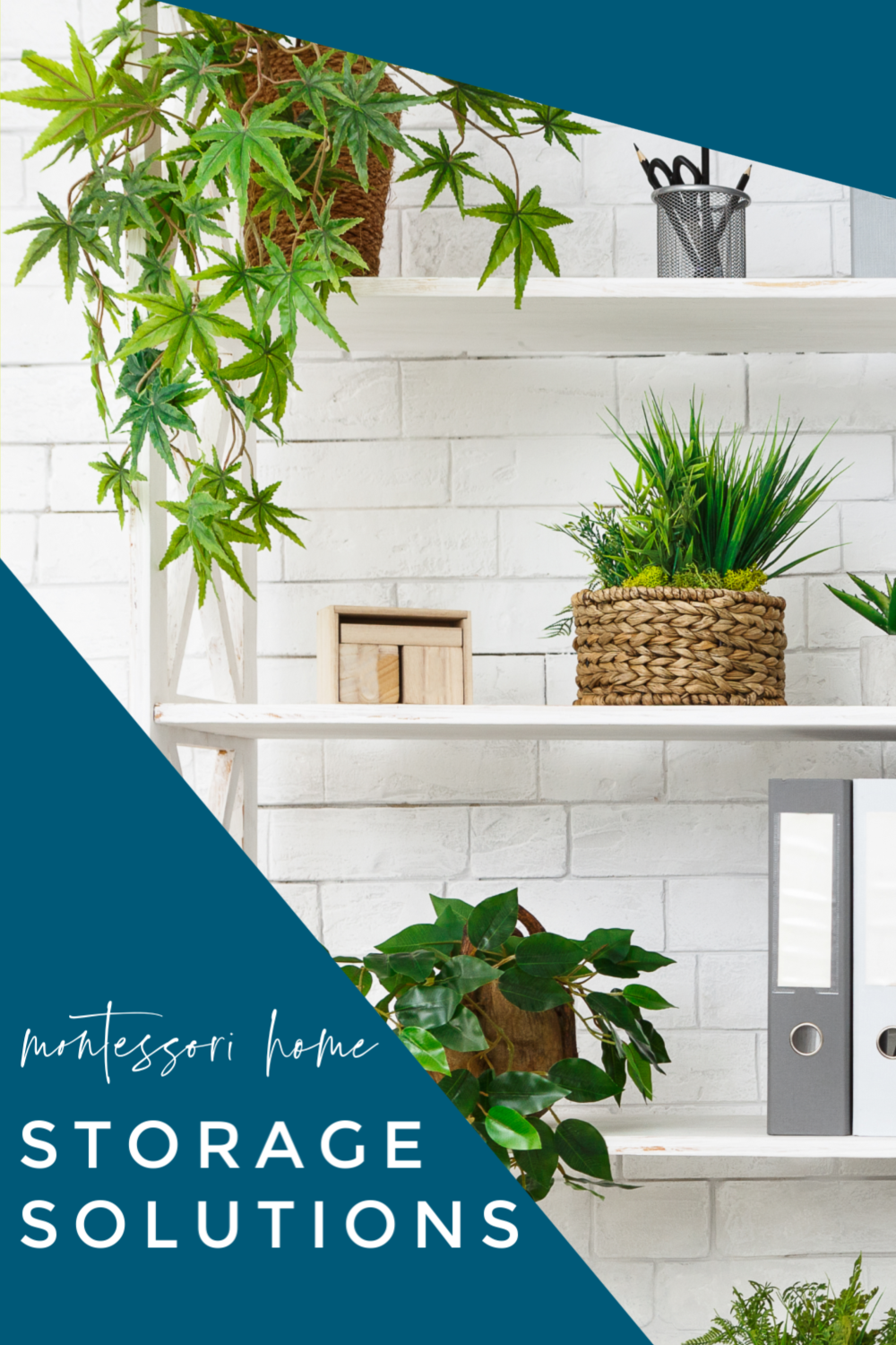 In this Montessori parenting podcast, we take a look at some of the storage and rotation solutions we use as Montessori parents.