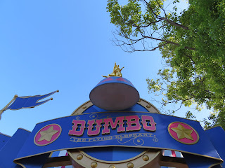Dumbo the Flying Elephant Sign Disneyland