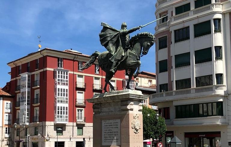 estatua-el-cid-burgos-que-visitar
