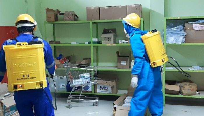 Penyemprotan Disinfektan Cegah Corona Sasar Seluruh Kantor OPD Sinjai