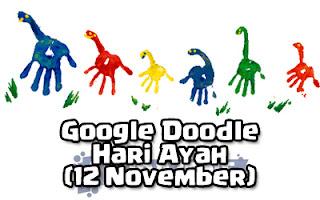 Google Doodle - Hari Ayah (12 November 2018)