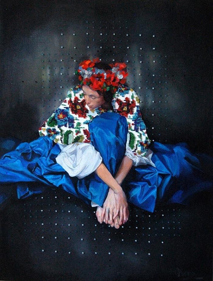 Украинский художник. Ольга Браун