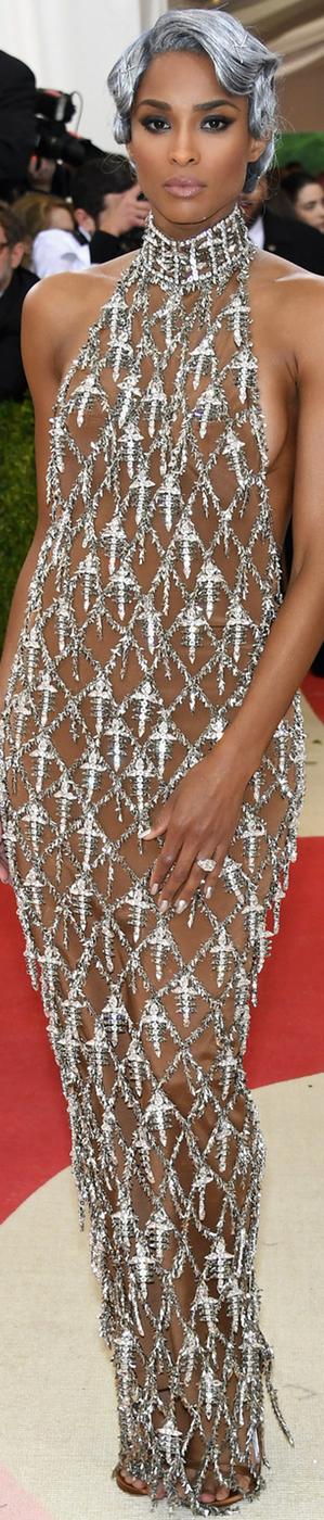 Ciara 2016 MET GALA