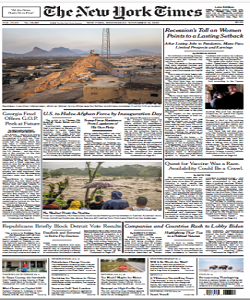 The New York Times Magazine 18 November 2020 | The New York News | Free PDF Download