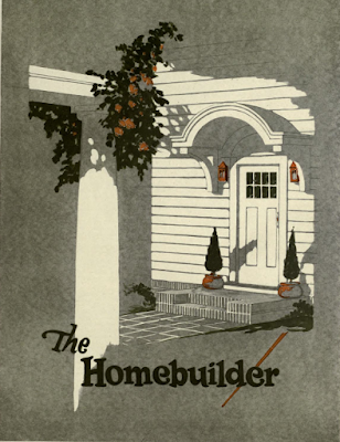 1923 plan book The Homebuilder firs inside page