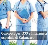 concorsi pubblici per infermieri e oss in calabria